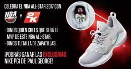 Concurso con NBA 2K17: gana unas zapatillas de Paul George
