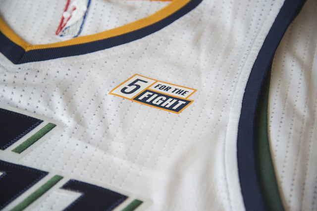 La publicidad de la camiseta de Utah Jazz será en favor a la lucha contra el cáncer