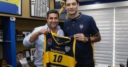 Carlos Delfino vuelve a las pistas con Boca