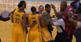 Polémico final de partido de Lance Stephenson ante los Raptors