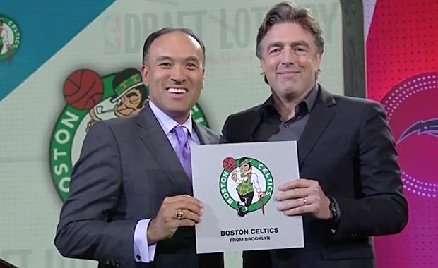Lotería del Draft 2017.