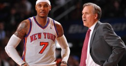 Carmelo Anthony forzó la salida de Mike D'Antoni