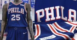Philadelphia oficializa sus nuevos uniformes