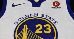 Los Warriors ya tienen nuevo patrocinador: Rakuten