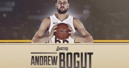 Los Lakers hacen oficial el fichaje de Andrew Bogut