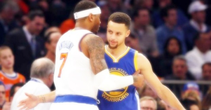 """Curry y el traspaso de Carmelo: """"Es una locura cómo se está fortaleciendo el Oeste"""""""