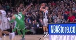Game-winner de Manu Ginobili contra los Celtics