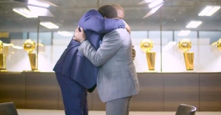Magic Johnson e Isiah Thomas se reconcilian después de años de enemistad