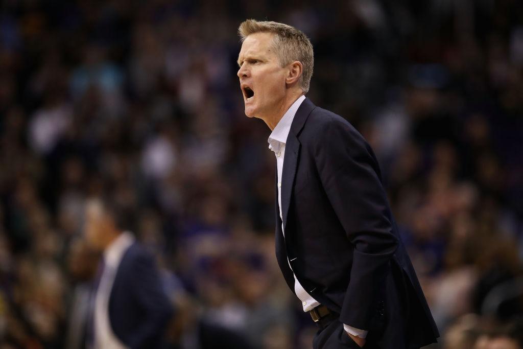 Kerr pierde los papeles y los Warriors caen en Portland