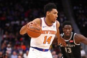 Allonzo Trier continuará en los Knicks la próxima temporada