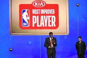 Pascal Siakam, Jugador Más Mejorado de la NBA 2018-19