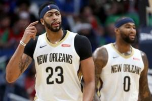 Los Lakers no se plantean usar a Anthony Davis como pívot pese a la lesión de Cousins