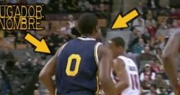 En la NBA también hay fallos, un jugador sin nombre