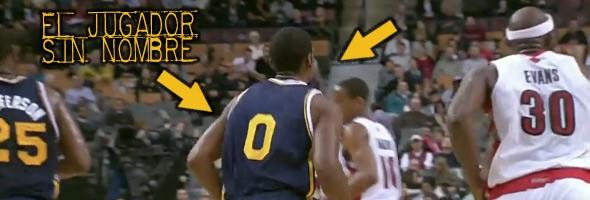 Marcus Cousin, el jugador sin nombre en la camiseta en la NBA