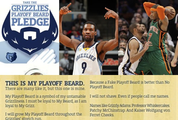 Memphis Grizzlies, camino de playoffs...con barba