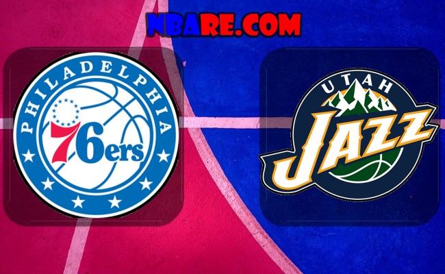 Philadelphia 76ers Vs Utah Jazz Full Game Replay