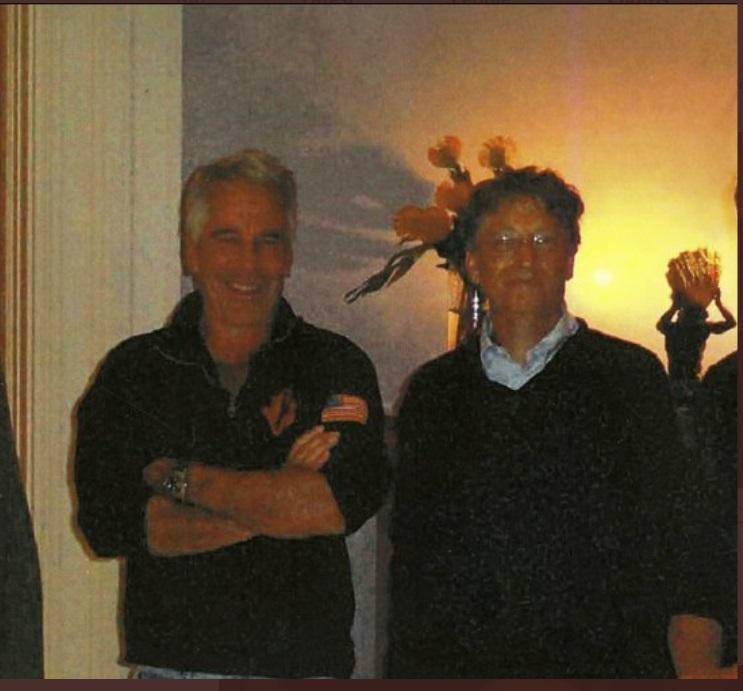 PHOTO Bill Gates With Jeffrey Epstein