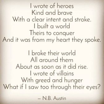 A poem by author N.B. Austin, inspired by the Civilands Series. Adventure writing.