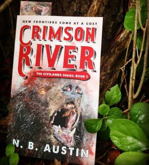 The first book in the Civilands series, Crimson River. Paperback.