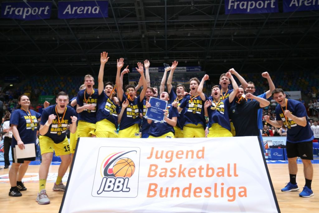 JBBL Champion 2017 ALBA BERLIN