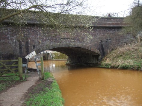 The Poole Aqueduct that carries the Macclesfield canal across the T&M.