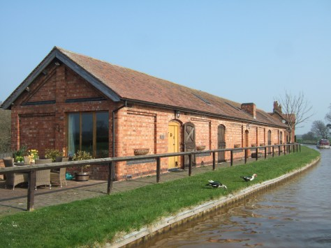 Converted stables next to the nice house