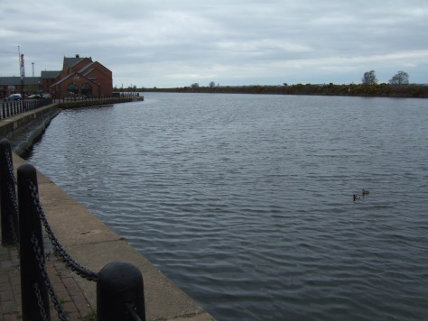 The Manchester Ship canal.