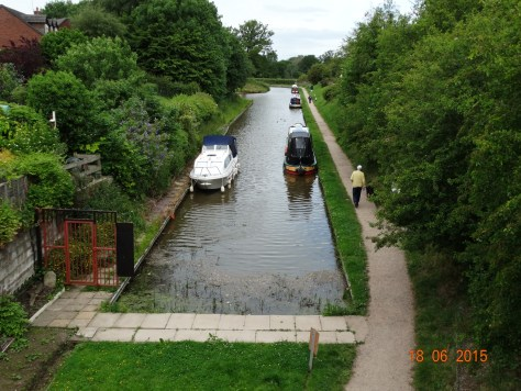 At the end of the Whitchurch arm (well almost)