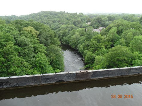 View over the Dee valley (note the far side edge)
