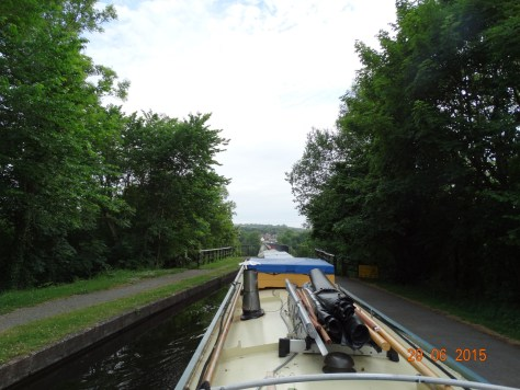 Approaching the Pontcysyllite aqueduct