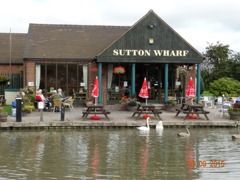 Sutton Wharf cafe