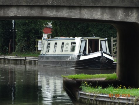 Dee Valley. Our first ever hire boat