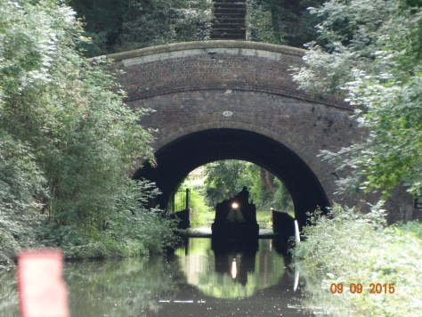 Newbold tunnel only 250yds