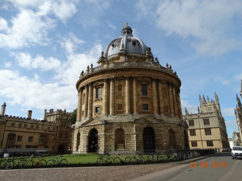 Radcliffe camera. Part of the Bodleian library