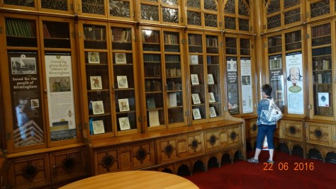 Shakespeare's room in the library
