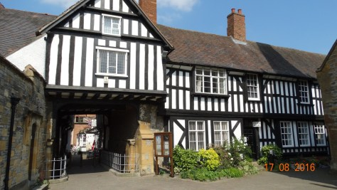more tudor buildings