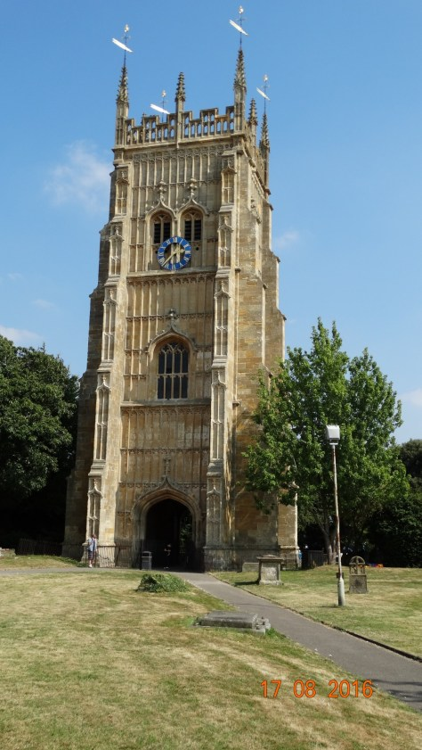 Abbey bell tower, all that is left of the Abbey church after Henry V111's dissolution of the monastery's
