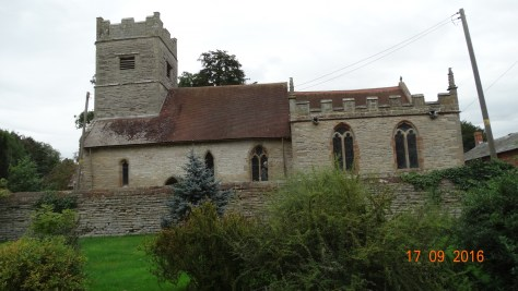 All Saints church in the grounds of Spetchley. Dates to the 14th century and contains the tombs of the Berkeley family. Now sadly decommissioned