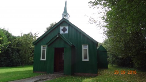 a mission hall. Flat packed so could be erected anywhere that a place of worship was needed