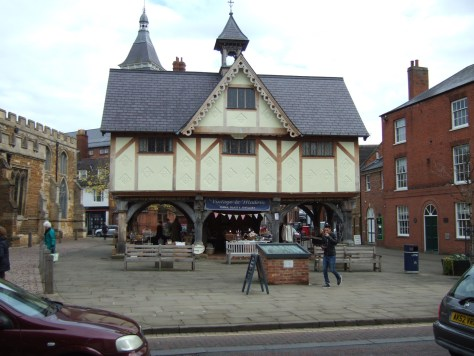 there was a few market stalls under this building