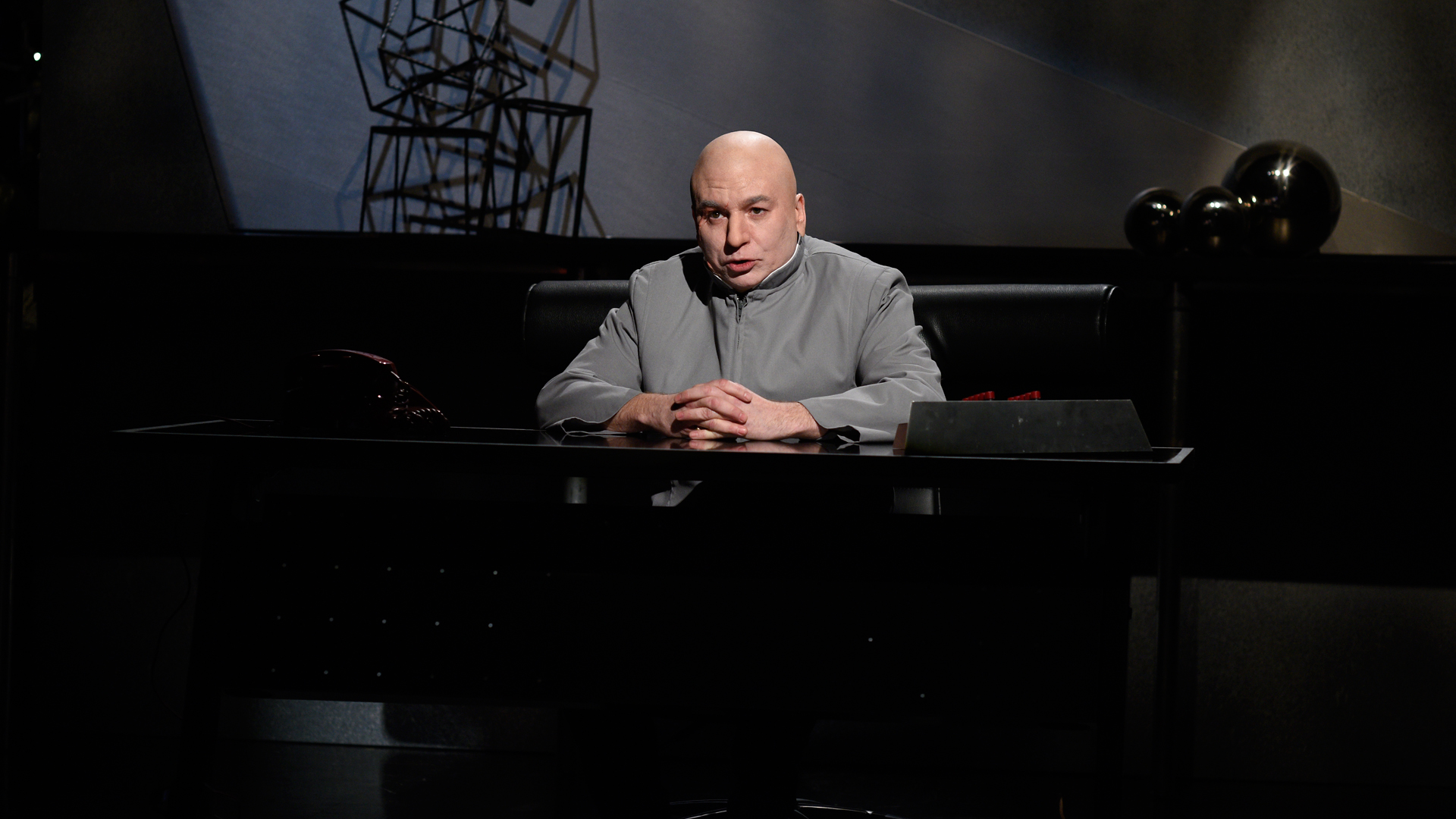 Watch Dr Evil Addresses The Sony Hacking Scandal From