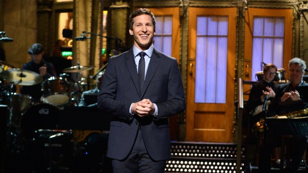 Watch Monologue Andy Samberg Break Bill Hader' Record Impressions Saturday