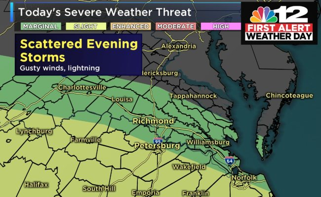 First Alert Forecast First Alert Day Issued For Risk Of ...