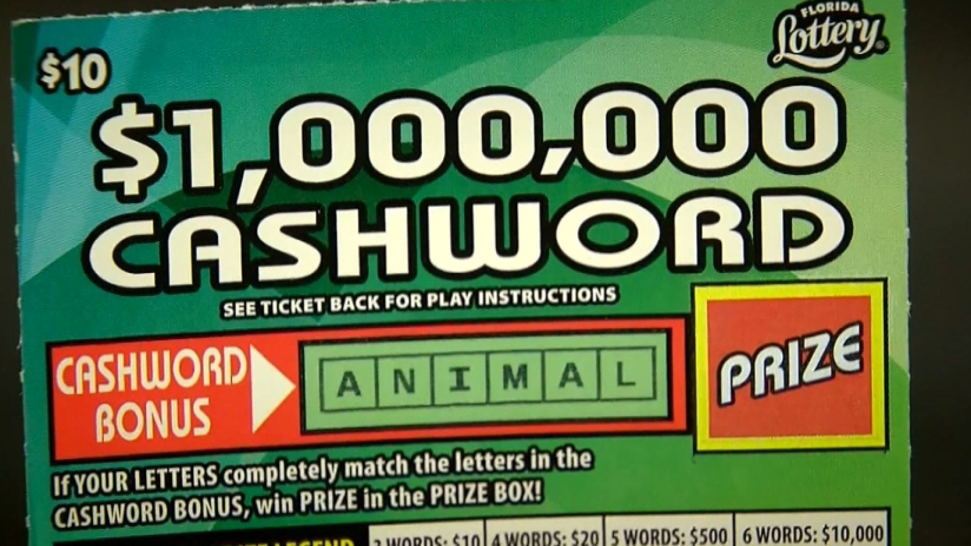 Man Sues Friend In Dispute Over 1m Lottery Ticket