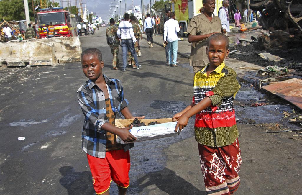 APTOPIX Somalia Explosion_357975