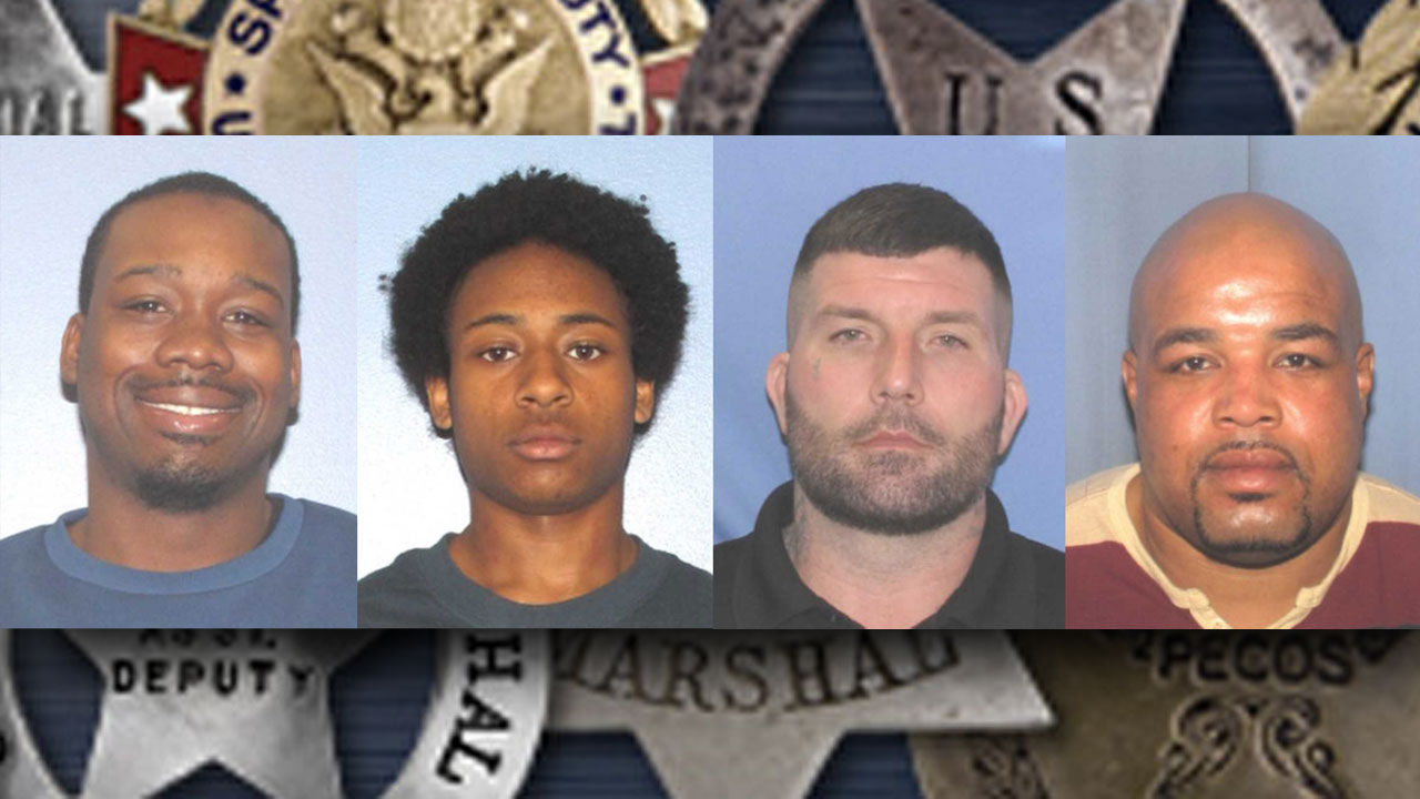 MUGSHOTS: US Marshals announce top-wanted fugitives in