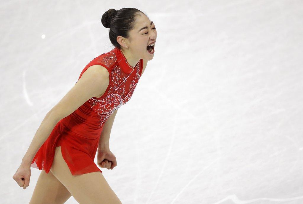 APTOPIX Pyeongchang Olympics Figure Skating Team Event_391118