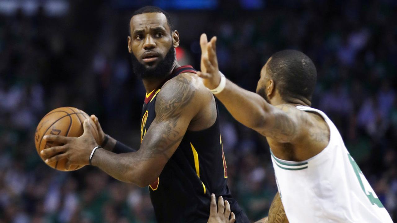 Cavaliers Celtics Basketball_1527131833122