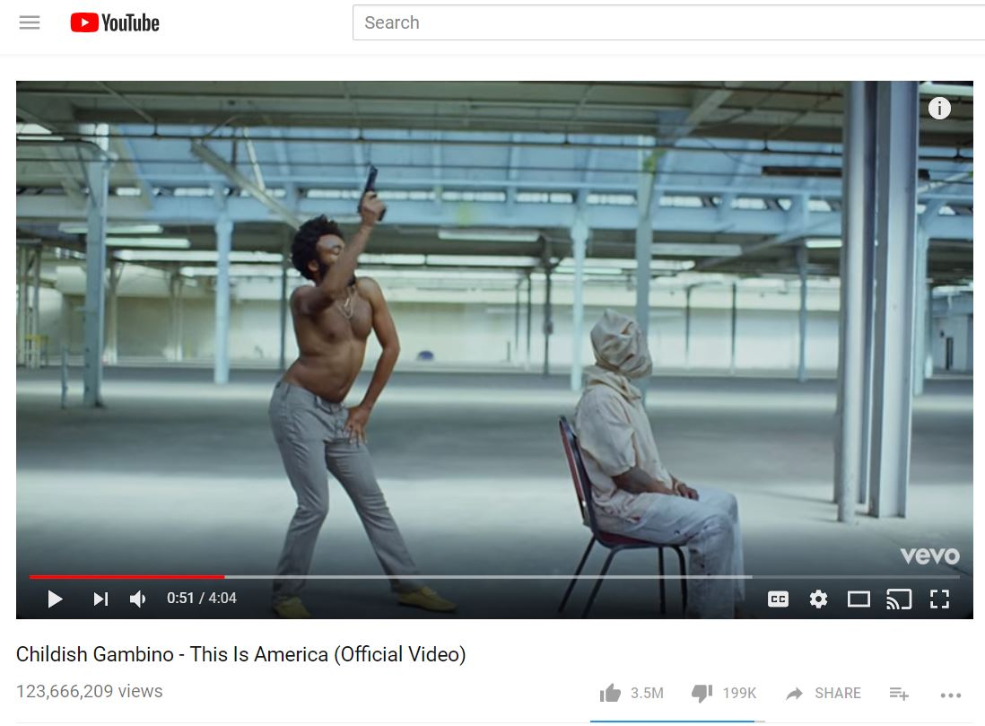 Childish Gambino This is America-846655081
