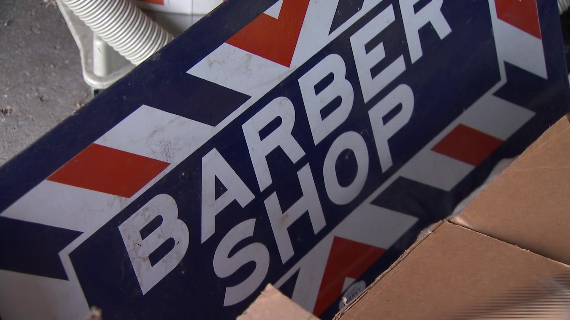 Storms destroy 49-year-old barbershop landmark